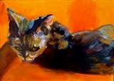 The Rex Glare by Erica Shipley, Painting, Oil on Board